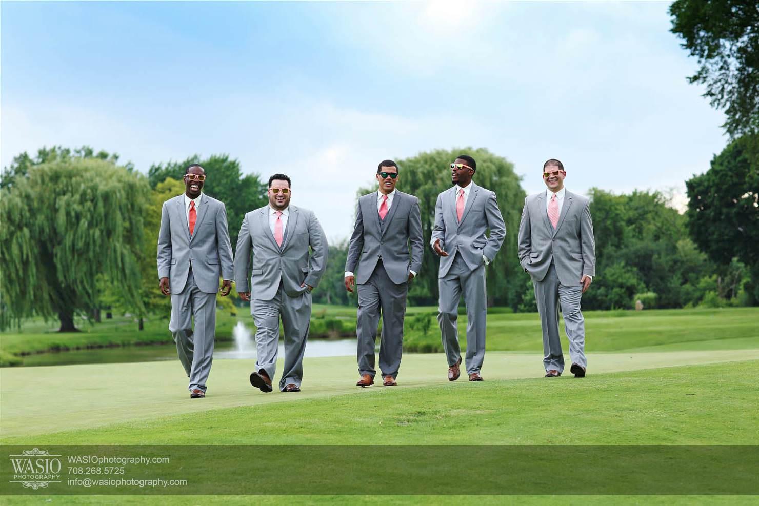 wedding-groomsman-grey-summer-golf-club-lought Chevy Chase Country Club Wedding - Elizabeth & Michael