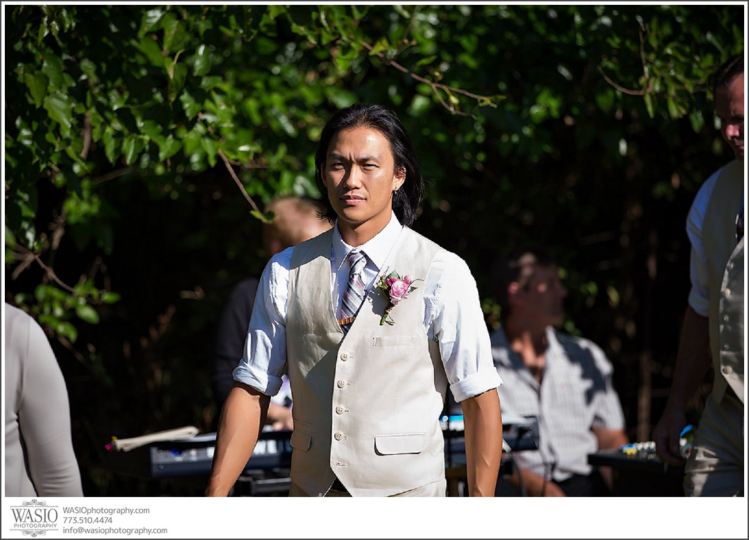 wedding-photography-in-indiana-079-outdoor-groom-walking-down-the-isle Wedding Photography in Indiana - Natalie + Jae