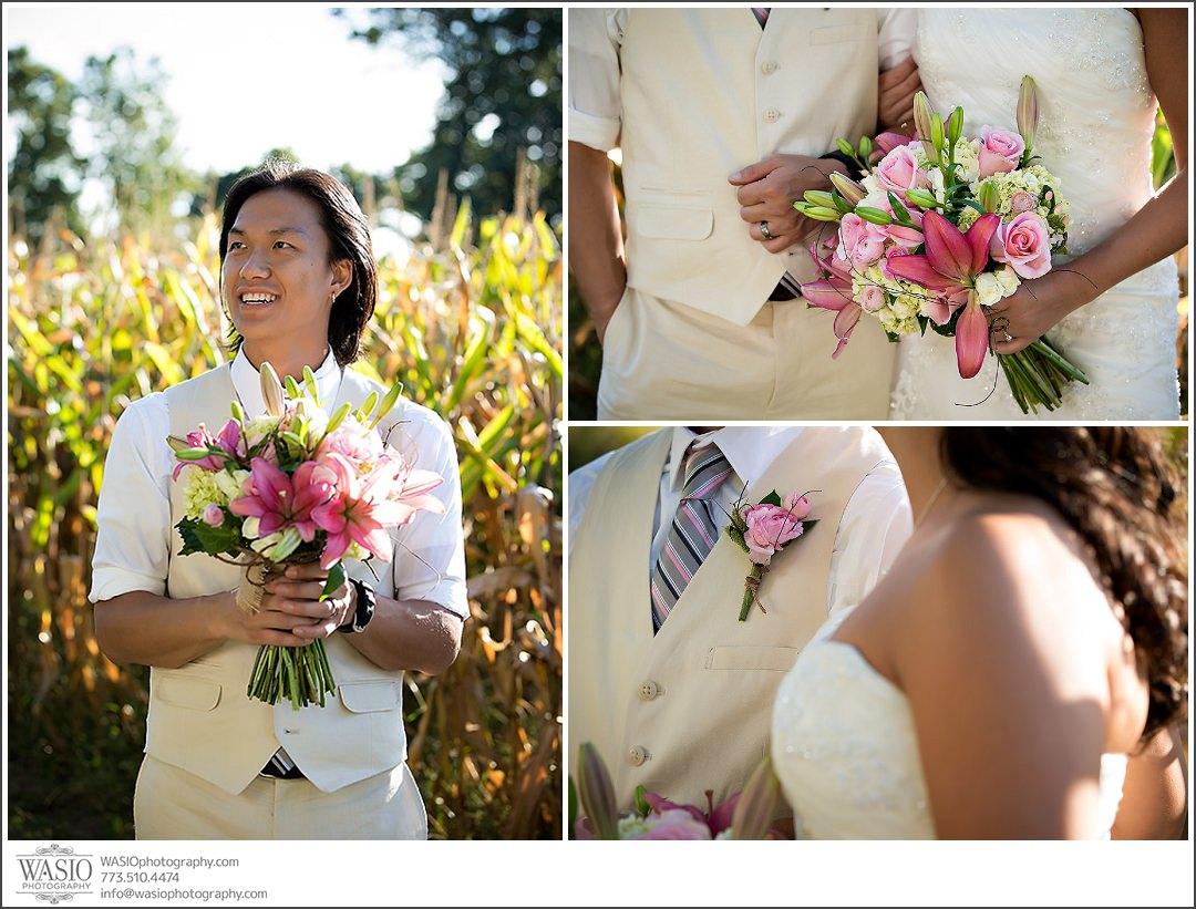 wedding-photography-in-indiana-089-artistic-bride-groom-couple-portrait-corn-field Wedding Photography in Indiana - Natalie + Jae