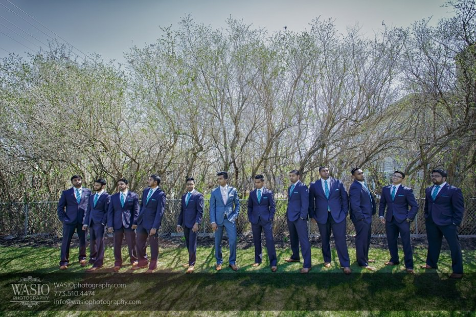 wedding-photograpy-bridal-party-groomsmen-fun-portrait-035-931x620 Chicago Indian Wedding  - Cheryl + Brian
