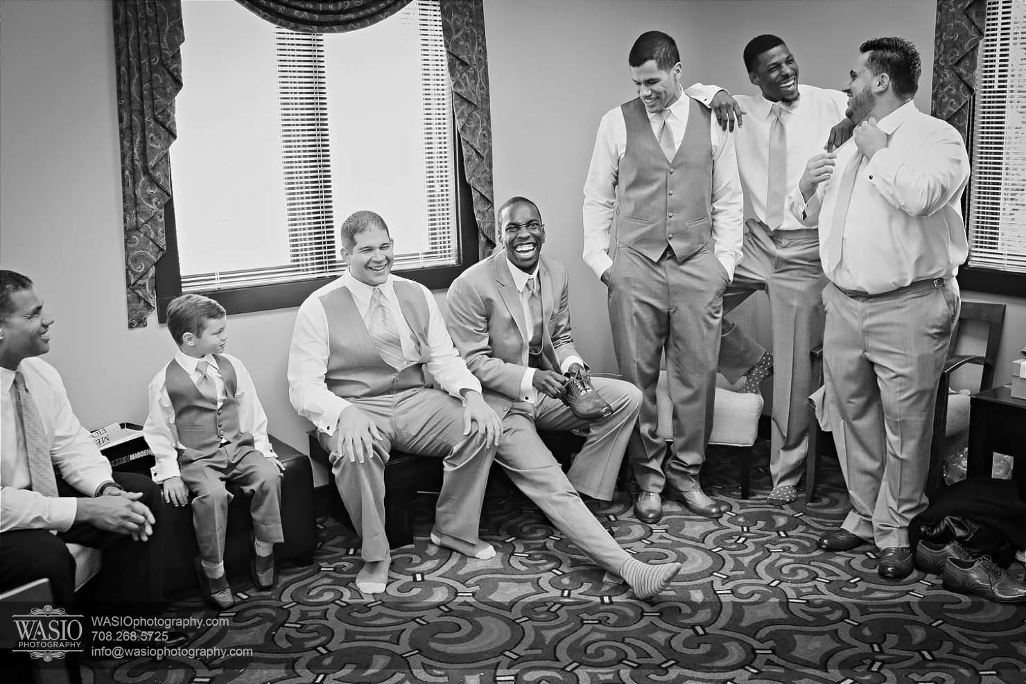 wheeling-wedding-groomsmen-preparation Chevy Chase Country Club Wedding - Elizabeth & Michael