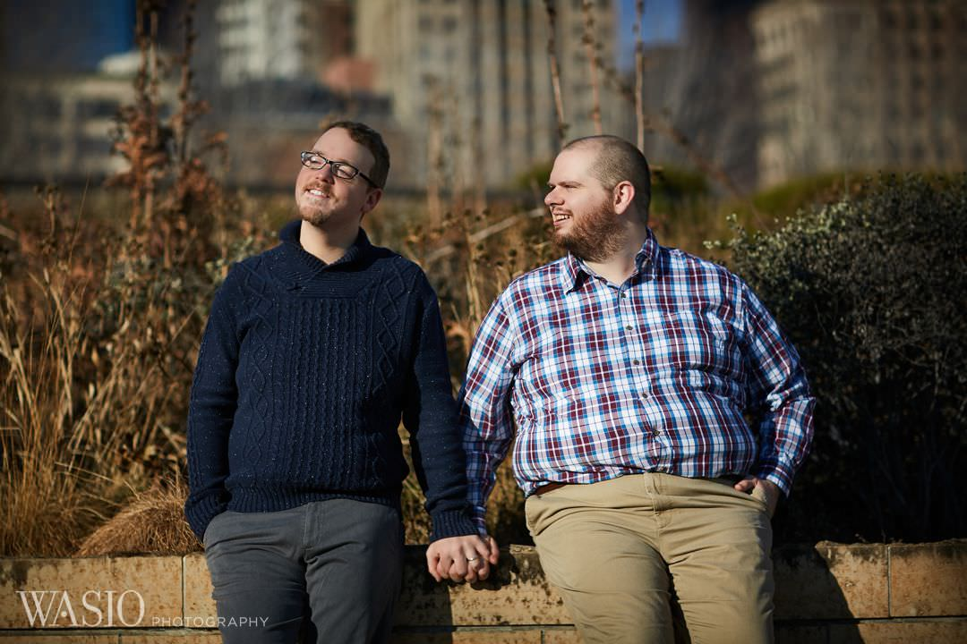 winter-engagement-same-sex-gay-sunny-lgbt Chicago same sex engagement - Jeffrey + Brandon